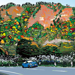 「今回のイラスト」を「国道252号 六十里越雪わり〜白沢トンネル付近〜 パノラマ版に更新しました。