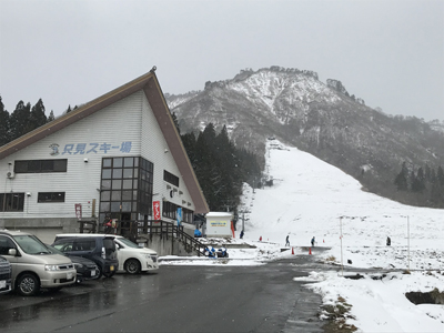 雪中 宝ひろい@只見スキー場2020