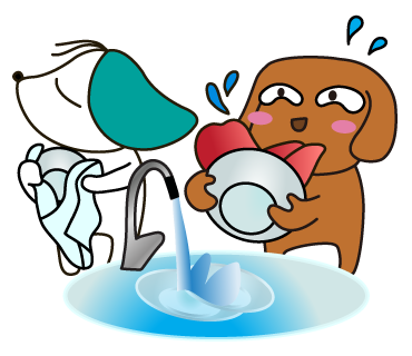 12_皿洗い