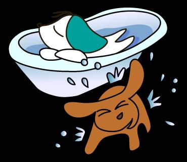 15_昼寝お風呂